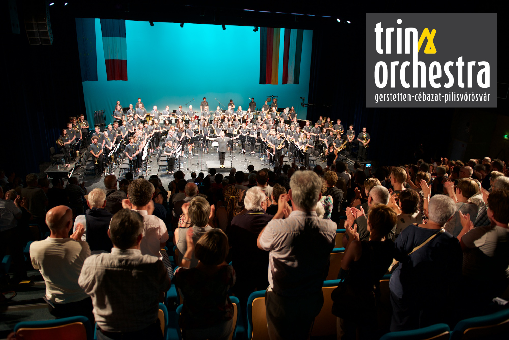TRINAOrchestra 2019 90 young people - 3 musicschools - 3 towns - 3 countries … 1 orchestra